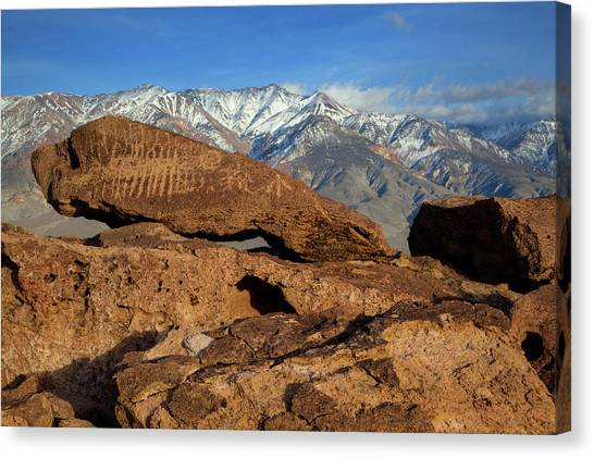 Curvilinear Canvas Print - Usa, California, Bishop by Jaynes Gallery