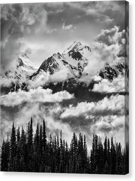 Olympic Peninsula Canvas Print - Usa, Washington State, Olympic National by Ann Collins