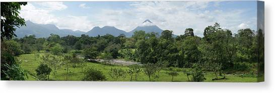 Arenal Volcano Canvas Print - View Of The Arenal Volcano National by Panoramic Images