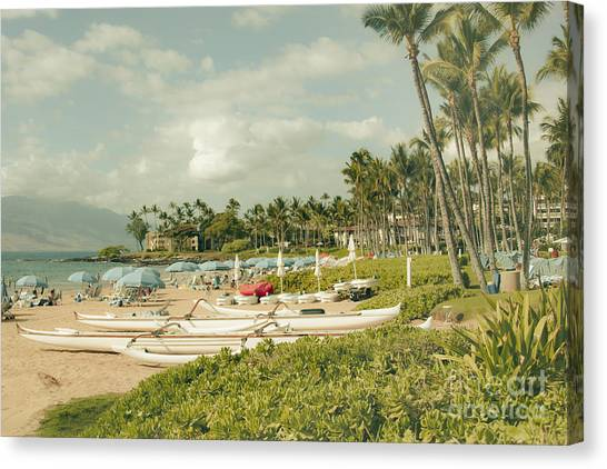 Wailea Beach Maui Hawaii Canvas Print