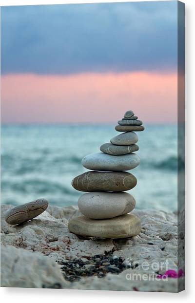 Seascapes Canvas Print - Zen by Stelios Kleanthous