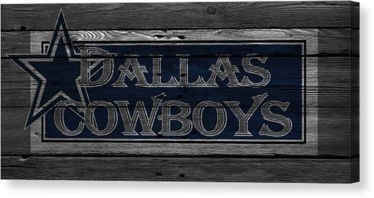 Nfc Canvas Print - Dallas Cowboys by Joe Hamilton