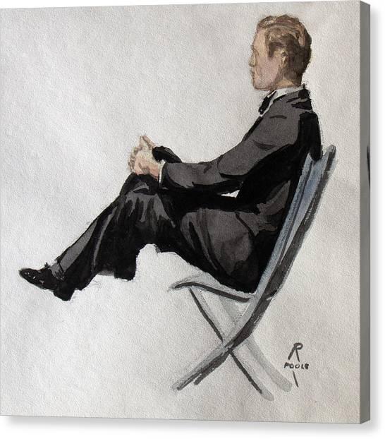 Gatsby Study 2 Canvas Print