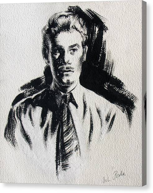 Secret Agent Study 1 Canvas Print