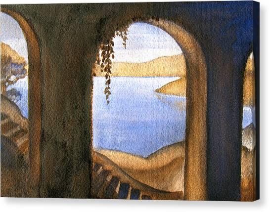 Parrish Blue Canvas Print