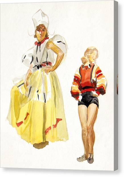 Swiss Miss Canvas Print