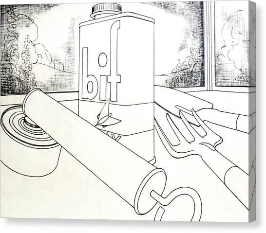 Bif Spray Canvas Print