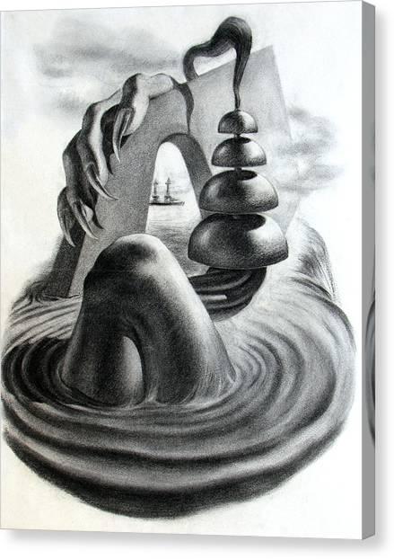Phantom Object Canvas Print