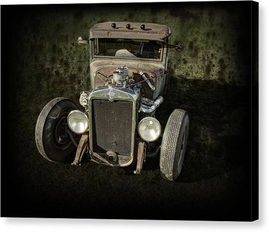 31 Chevy Rat Rod Canvas Print