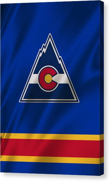 Colorado Rockies Canvas Print - Colorado Rockies by Joe Hamilton
