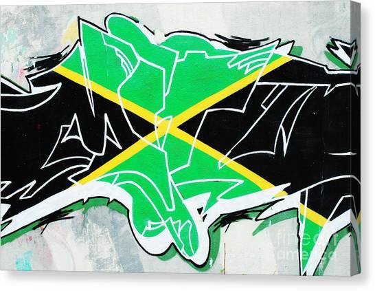 Benfica Canvas Print - Graffiti by Luis Alvarenga
