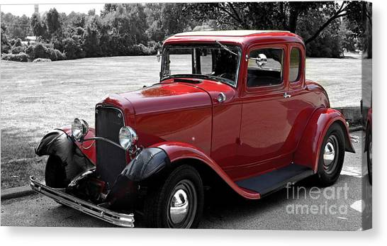 32 Ford Coupe Charmer Canvas Print
