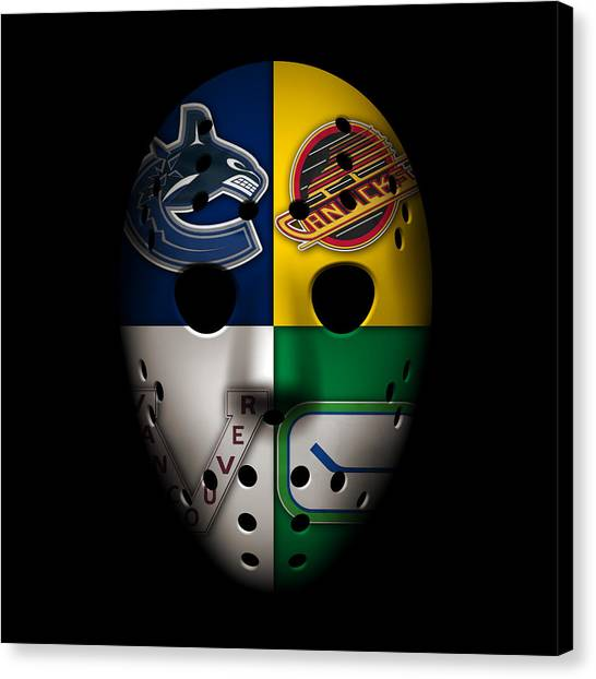 Vancouver Canucks Canvas Print - Vancouver Canucks by Joe Hamilton