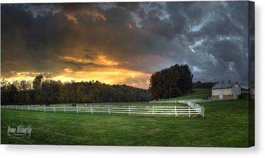 33 North Panorama Canvas Print