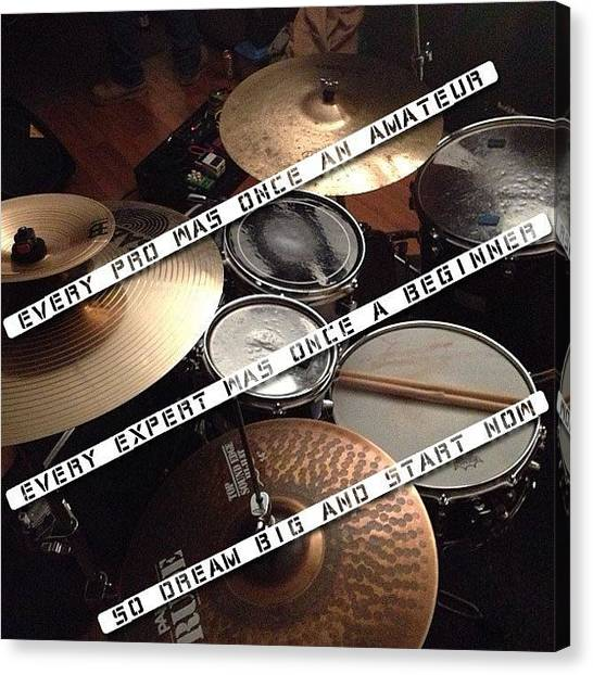 Percussion Instruments Canvas Print - Instagram Photo by The Drum Shop