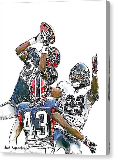 332 Canvas Print by Jack K
