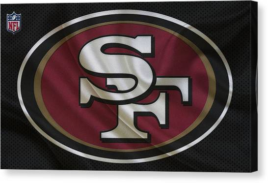 San Francisco 49ers Canvas Print - San Francisco 49ers by Joe Hamilton