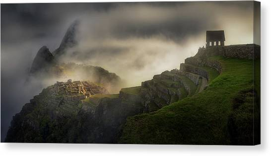 Peruvian Canvas Print - Untitled by Veselin Atanasov
