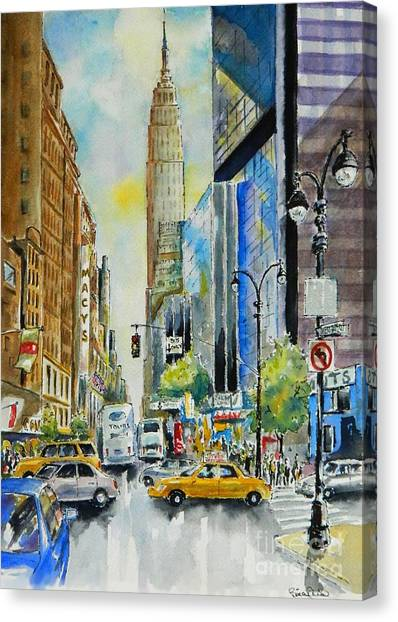 34th St. And 8th Ave Canvas Print