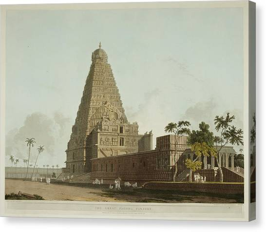 South Asia Canvas Print - Antiquities Of India by British Library