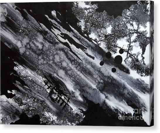 Boat Andtree Canvas Print