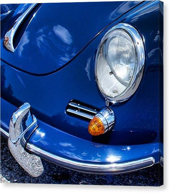 Porsche Canvas Print - Instagram Photo by Motorsports The Real