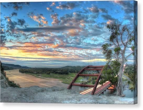 360 Bridge Canvas Print