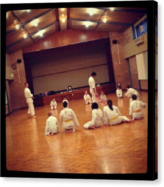 Karate Canvas Print - Instagram Photo by Ragenangel -s