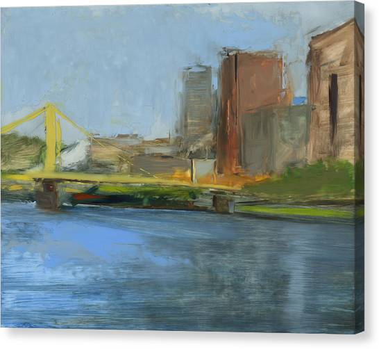 Pittsburgh Pirates Canvas Print - Rcnpaintings.com by Chris N Rohrbach