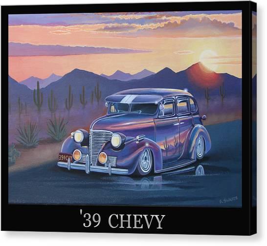 '39 Chevy Canvas Print