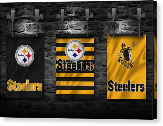 Pittsburgh Steelers Canvas Print - Pittsburgh Steelers by Joe Hamilton