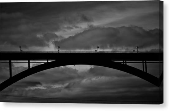 Mississippi River Canvas Print - 39 Seconds by Matthew Blum