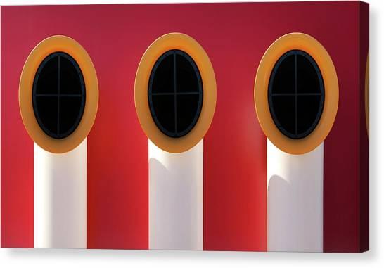 3x0 Canvas Print by Hans-wolfgang Hawerkamp
