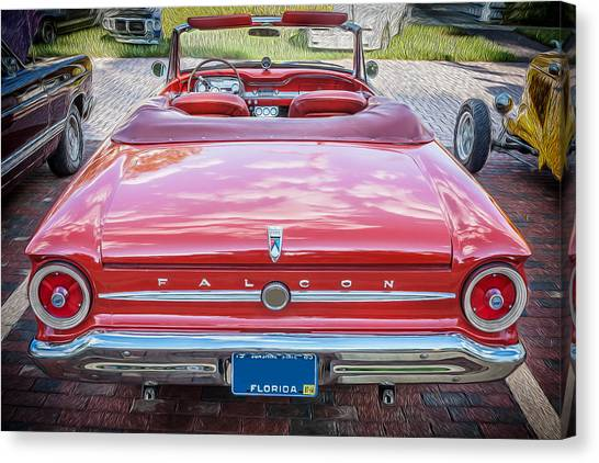 1963 Ford Falcon Sprint Convertible  Canvas Print