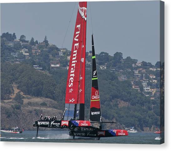 America's Cup San Francisco Canvas Print