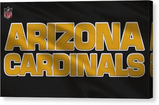Arizona Cardinals Canvas Print - Arizona Cardinals Uniform by Joe Hamilton