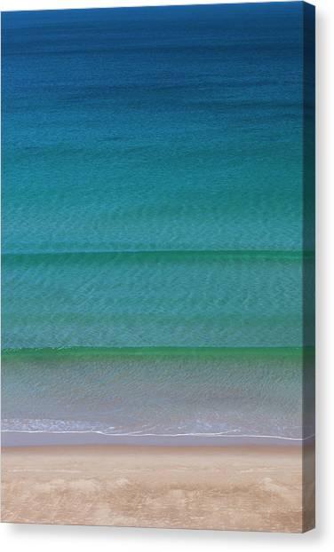 Beach Cliffs Canvas Print - Australia, Fleurieu Peninsula, Port by Walter Bibikow
