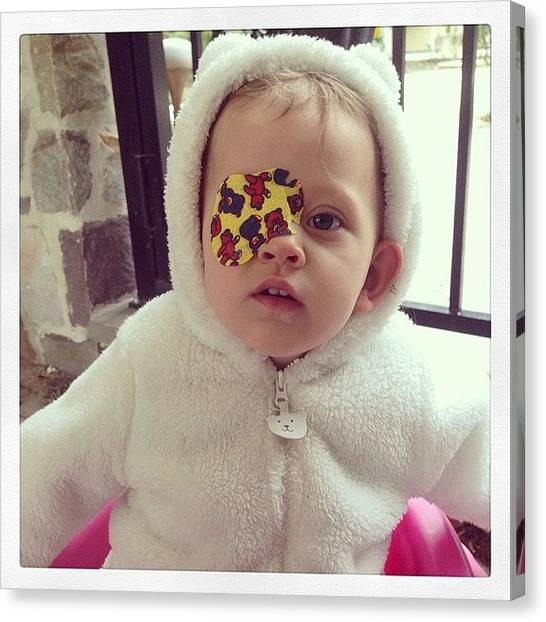 Canvas Print - Baby Girl by Rosie Odonnell