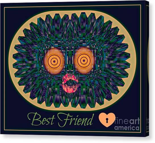 Best Friend Canvas Print by Meiers Daniel