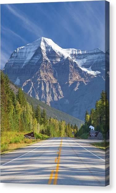 British Columbia Canvas Print - Canada, British Columbia, Mount Robson by Jaynes Gallery