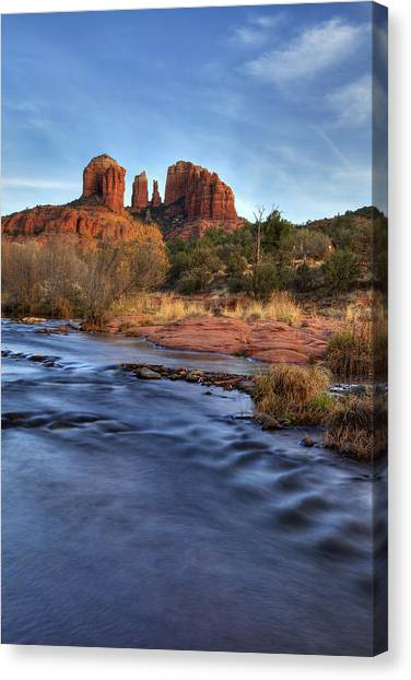 Cathedral Rocks In Sedona Canvas Print
