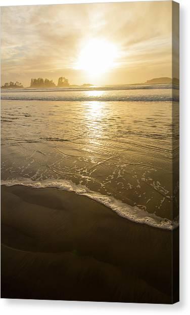 Vancouver Island Canvas Print - Chesterman Beach, Tofino, Vancouver by Douglas Peebles