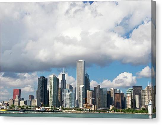 Chicago Canvas Print by Jim West