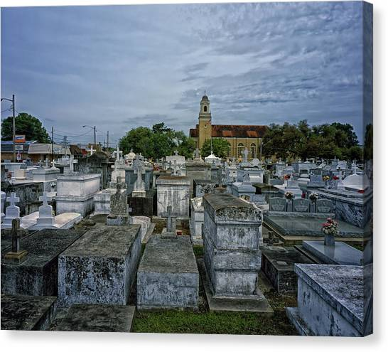 City Of The Dead Canvas Print - City Of The Dead - New Orleans by Mountain Dreams
