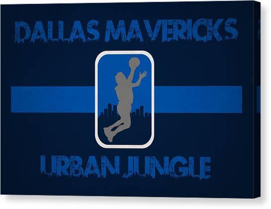 Dallas Mavericks Canvas Print - Dallas Mavericks by Joe Hamilton