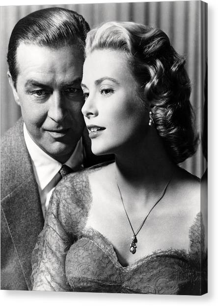 Grace Kelly Canvas Print - Dial M For Murder  by Silver Screen