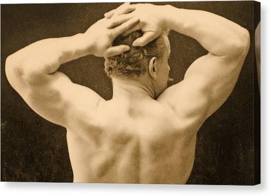Follies Canvas Print - Eugen Sandow by George Steckel