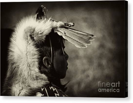 4 - Feathers Canvas Print
