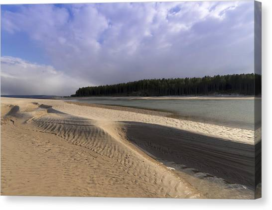 Findhorn Bay Canvas Print by Karl Normington