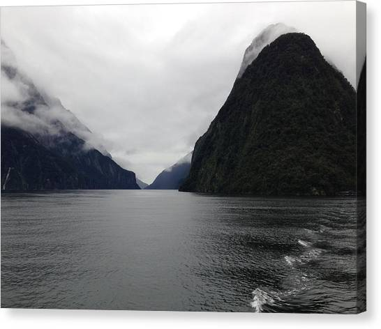Fiordlands Canvas Print by Ron Torborg